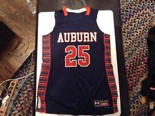 5f0e525fcb9 Auburn Tigers Ladies Basketball Custom Jersey #25 Under Armour SZ L (12) -