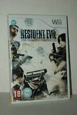 RESIDENT EVIL THE DARK SIDE CHRONICLES GIOCO USATO NINTENDO Wii UK PAL ML3 52907