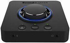 Creative Sound Blaster X3 7.1 External USB DAC Sound Card with Super X-Fi®