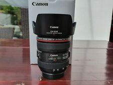 Canon EF 24-70 mm F/4.0 IS USM L Objektiv mit Gegenlichtblende Neu!