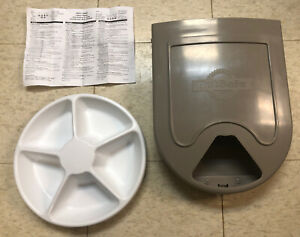 PetSafe Eatwell 5 Meal Timed Automatic Pet Feeder PFD11-13707 with Instructions