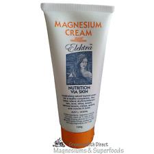 Magnesium Cream Orange 100g.  From FOOD Grade Magnesium Chloride Hexahydrate