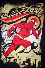 The Flash Large T Shirt Mens Comic Book Superhero DC Comics Scarlet Speedster