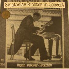 """SVJATOSLAV RICHTER IN CONCERT HAYDN DEBUSSY PROKOFIEFF MELODIA  12"""" LP (h864)"""