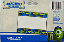 MONSTERS UNIVERSITY PARTY SUPPLIES TABLE COVER / TABLE CLOTH 1.8 X 1.3 METERS