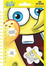 SpongeBob Squarepants Mini Sketch Book Set / Birthday Party Loot Stickers