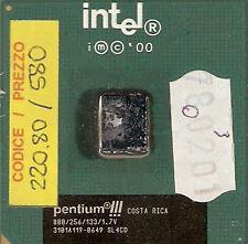 220.80 - INTEL - PROCESSORE PENTIUM CELERON 800 MHz - 133 MHz
