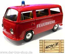 VW Bus T2 - Kovap Modell 1:43 - Feuerwehr - NEU & OVP