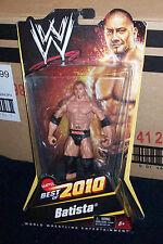 WWF WWE BEST OF 2010 BATISTA WRESTLING ACTION FIGURE MATTEL MMA SIGNATURE SEREIS