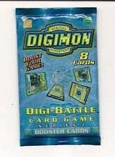 DIGIMON DIGI-BATTLE BOOSTER PACK Series 1 Edition FREE SHIP