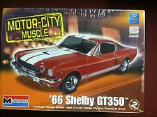 Monogram '66 Shelby Mustang GT350 1/24 Scale Model Car Kit 85-4293