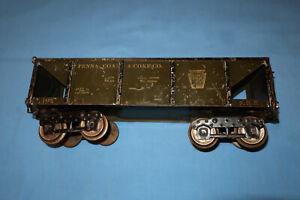 IVES Standard/Wide Gauge #194 Coal Hopper Car. PRR Penna Coal & Coke Co.