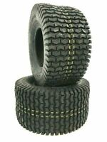 2-16x6.50-8 4 Ply Deestone D266 Turf Trac Mower Tires 16x6.5-8