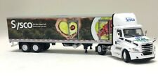 Dcp 1:64 Freightliner Tractor w/ 40' Food Refrigerated Trailer: Sysco 50th Anniv