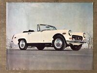 c1970 MG Midget original Canadian sales brochure/leaflet