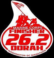 Magnet 2018 any year Marine Corps Marathon Decal Suit case,Car Window 6X6