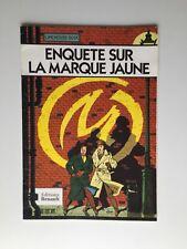 PUB RENAULT BLAKE ET MORTIMER ENQUETE SUR LA MARQUE JAUNE / E.P.JACOBS