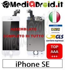 APPLE IPHONE SE BIANCO VETRO DISPLAY LCD SCHERMO COMPLETO ASSEMBLATO + ORIGINAL