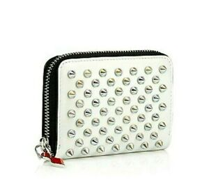 M-132247 New Christian Louboutin W Panettone Leather Coin Purse
