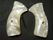 Charter Arms Small-Frame Smooth Pearl Classic Revolver Grips Iridescent Sweet!