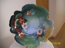 Rosenthal Tilly Antique Hand Painted Porcelain Bowl With Floral Design Signed