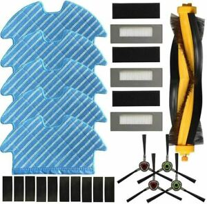 Main Side Brush Filter Mopping Cloth Kit for Deebot Ozmo 900 DN5G Vacuum Parts