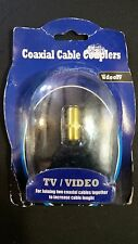 Fred's Coaxial Cable Coupler Video/TV