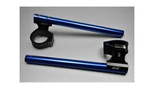 Coppia Semimanubri Rialzati Inclinabili Blu 53mm APRILIA FALCO 1000 SL 2001-2005