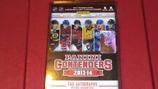2013-14 Panini Contenders Hockey Hanger  Box Guaranteed 2 Autos Poss Tarasenko !