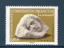 TIMBRE 3964 NEUF XX LUXE - CONSTANTIN BRANCUSI - LE SOMMEIL SCULPTURE