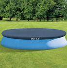 Intex 28022E 12-Foot Easy Set Swimming Pool Debris Cover Tarp, Blue (Open Box)