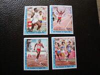 Wert D Ivoire - Briefmarke Yvert / Tellier Luft N° 90 A 93 N MNH (COL4)