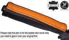 Nero & Arancione in Pelle e del freno di emergenza MANIGLIA cover si adatta Camaro Firebird 93-02