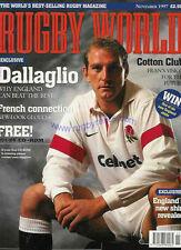 Rugby world magazine novembre 1997