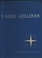 VARIG AIRLINES Emergency Procedure Manual 1970