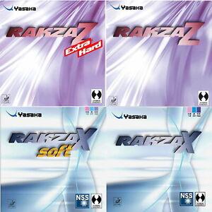 Yasaka Rakza Z / X / Soft / DOPPELPACK / Tischtennisbelag /zum Sonderpreis