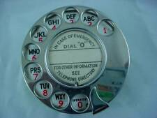 Siemens Brothers Chrome Enameled Telephone Dial NOS British Made Phone Rotary