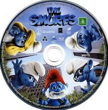 The Smurfs DVD Like New Disc Only Region 4 Australia 🇦🇺 Free Shipping