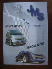 JMS SMART TUNING (CITY-COUPE, CABRIO, ROADSTER/COUPE) prospetto, D/GB, 11.2003