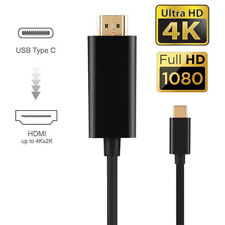USB 3.1 Type C to HDMI TV HDTV Video Cable for Samsung Galaxy S8 S8 plus Macbook