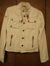 Twill Twenty Two Women's Off White Blazer Size P