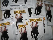 WRAPPERS PSYCH 100 count lot from 2013 TV  Show Season 1-4 CRYPTOZOIC