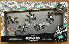 D23 2017 Expo Disney Oswald The Lucky Rabbit Pin Set Of 5 Limited Edition Of 500