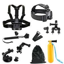 Accessories Kit Mount for Gopro go pro hero Session SJCAM/Xiaomi yi 5 4 3 EKEN