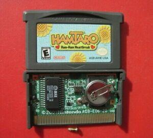 Hamtaro: Ham-Ham Heartbreak Nintendo Game Boy Advance *Authentic & Saves*