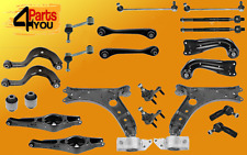 full KIT SET front rear SUSPENSION VW GOLF V MK5 BALL JOINT ARMS WISHBONE LINKS