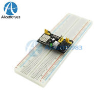 MB102 Breadboard Power Supply Module 3.3V 5V Arduino Board+Breadboard 830 Point