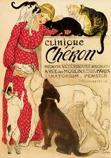 Cheron - Vintage Style Italian Poster Poster Print, 20x28