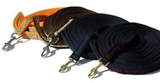 Sale ! SUPERSOFT PADDED LUNGE LINE, navy/green