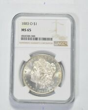MS65 1883-O Morgan Silver Dollar - Graded NGC *962